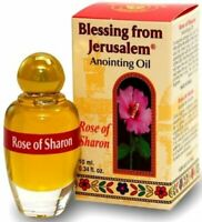 Rose of Sharon Jerusalem Anointing Oil 0.34 fl.oz from the Land of the Bible