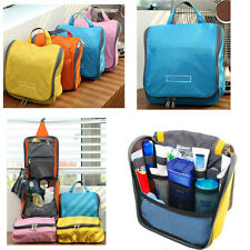 Protable Travel Wash Toiletry Organiser Hanger Pouch Cosmetic Makeup Storage Bag