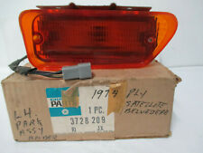 Mopar NOS 1974 Satellite, Coronet, 4 Door Left Turn Signal Lamp Assembly 3728209