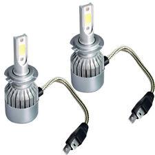 2PC H7 Hi/Lo Bulb Philips Car LED Headlight Kit 72W 7600LM 6000K White Lamp GA
