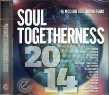 "SOUL TOGETHERNESS 2014  ""15 MODERN SOUL ROOM GEMS""  CD"
