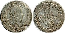 HENRI III Quart de franc au col plat 1578 Paris Dy.1132