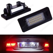 For BMW E39 E60 E82 E70 E90 E92 CANBUS Xenon White LED Number Plate Lights Bulbs