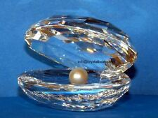 swarovski oester,  shell with pearl