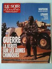 Le Soir illustré du 17/01/1991 Tatayet / Guerre Chimique/ Houtekins