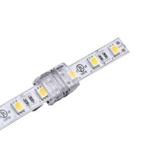 2Pin 10mm Hippo-M Strip to Strip Joint LED Strip Unsoldered Snap Connector IP65