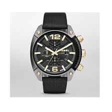 Diesel Watch, DZ4375, Black Leather Band, 49mm Case, 10ATM WR RRP$329