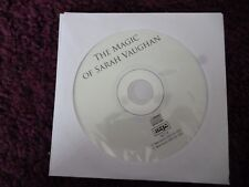 Sarah Vaughan - Magic of*CD*ALL TOO SOON*TIME AFTER TIME*BODY AND SOUL*DISC ONLY