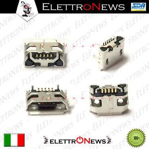 Connettore 5 Pin Micro Usb Saldare Plug in Mediacom Smartpad M-MP8S2A3G A008
