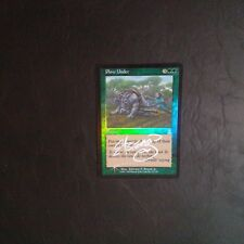 1X Plow Under - UZD - * Signed by Beard Jr. FOIL English, SEE PICTURES * MTG #2