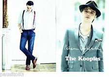 PUBLICITE ADVERTISING 1016  2012  The Kooples & Pete Doherty (2p)
