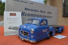 MERCEDES BENZ RENNTRANSPORTER 1954 1/18 CMC camion miniature transporteur collec