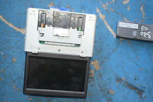 2009 VOLVO V70 S80 MK3  SAT NAV SCREEN POP UP DASH UNIT 31215502-1 WITH REMOTE