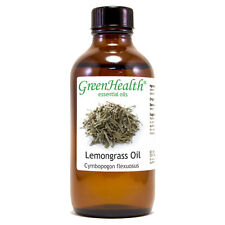 4 fl oz Lemongrass Essential Oil (100% Pure & Natural) - GreenHealth