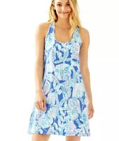 NWT Lilly Pulitzer Size XS Melle Dress Blue Haven Pop Up Into the Deep
