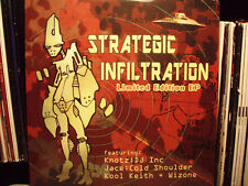INSOMNIAC RECORDS - STRATEGIC INFILTRATION (VINYL EP) 2002!!  RARE!!  KOOL KEITH