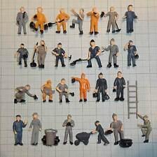 Figuren für Spur H0 (25 Arbeiter Bauarbeiter) Versand Frei!  EB0082