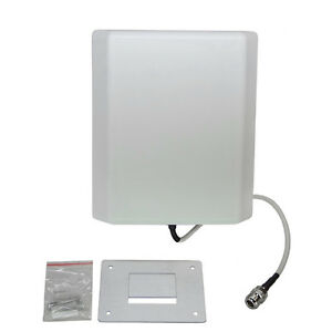 Wide Band 698-2700MHz 5dBi 7dBi Wall Mount Directional Panel Antenna 4G Network