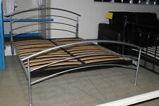 JAYBE Saturn Alloy metal, teenager 5ft king size bed, with slatted base BNIB