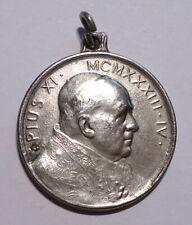 Vintage Pope Pius XI Pendant Medal