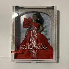 Holiday Barbie 2019 African American Signature Mattel Doll New Free Fast Ship