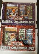 YUGIOH YUGI'S And KAIBA'S Collector Box 1 of each Factory Sealed FREE SHIP