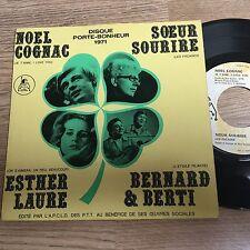 EP 45 tours Noël Cognac Soeur Sourire Esther Laure Bernard & Berti 1971