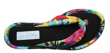 Flat (0 to 1/2 in.) Synthetic Floral Shoes for Women