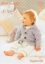Stylecraft 9154 Knitting Pattern DK - Jackets 0-7 Years