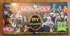 Disney My Villains Collector's Edition Monopoly Factory Sealed NIB NRFB