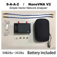 """50 kHz-3 GHz NanoVNA V2 Vektor-Netzwerkanalysator-Antenne VNA HF VHF UHF 2.8 """""""