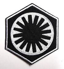 Star Wars First Order Patch - schwarz silber Uniform Aufnäher zum aufbügeln
