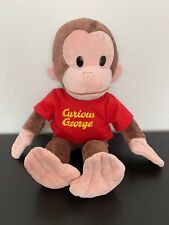 Curious George Red Shirt Plush Doll 16� Stuffed Animal Character Applause Russ