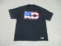 WWE Shirt Adult Extra Large Black Red Kevin Owens WWF Wrestling Wrestler Mens *
