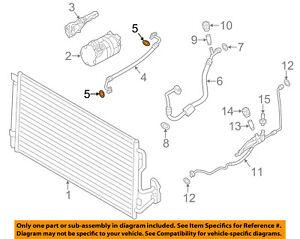 BMW OEM Z4 A/C AC Condenser/Compressor/Line-Pressure Hose O-ring 64508375741