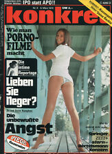 konkret Nr. 6 März 1970: Lieben Sie Neger?. Wie man Pornofilme macht, IPO statt
