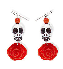 Accessorio Costume halloween, Orecchini a teschio *22992