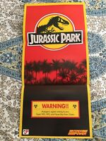 Jurassic Park Nintendo Power Poster 1992 From Nintendo Power Magazine