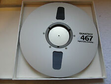 1 x Brand New & Sealed Quantegy 467 1/2in DASH Reel To Reel Tape Recording Tape