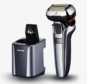 Panasonic ES-LV9Q 5-Blade Wet/Dry Electric Shaver Clean & Charge Station NEW
