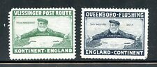 Great Britain Holland England Steamship Ferry Vlissinger Queensboro Flushing Pos