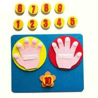 Montessori Finger Numbers Math Toy Children Counting New Toy Aid Math Teach N3M4