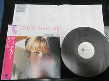 Sophie Marceau Certitude Japan Promo White Label Vinyl LP with OBI