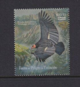 Mexico - 2009,Endangered Species,Californian Condor Vogel Briefmarke - - Sg 3123