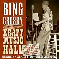 Lost Radio Recordings Released for The First Time - Bing Crosby (2015 CD New)
