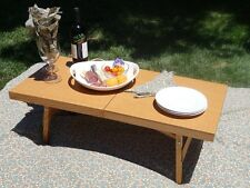 The ultimate folding wine table by Mesa Inspired- Rv, Concerts, Picnics in style