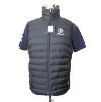 """RLX Ralph Lauren Men Size XS Puffer Down Vest Dark Blue 19"""" x 25"""" see details"""