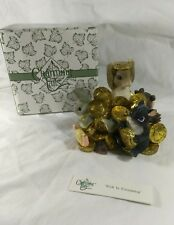 Fitz & Floyd Charming Tails- Rich Friendship- in Box- 97/25-Members Exclusive