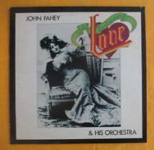 John Fahey & Orchestra Lp- Old Fashioned Love, excellent