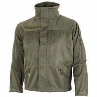 Genuine Austrian army combat mountain jacket alpine military olive OD parka